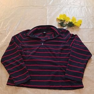 Lands'end Pullover Therma Jacket Sz M/P 10-12
